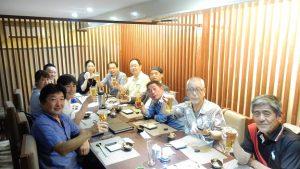 ヤンゴンの日本料理店蕎麦が美味かった