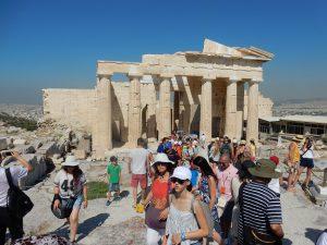 各国からの観光客