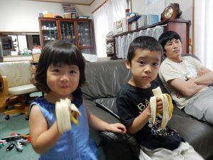 バナナ美味しいよ