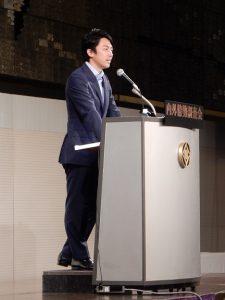 小泉進次郎の講演