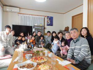 我家の新年会