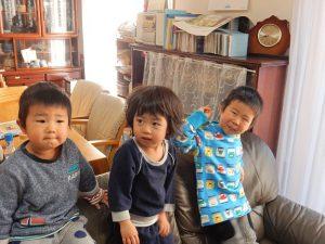 2歳3歳4歳の孫