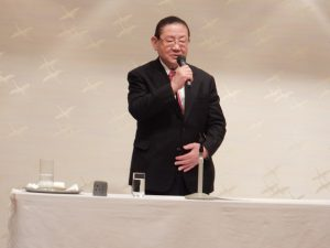 山崎拓氏の講演