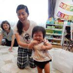 孫娘の誕生会