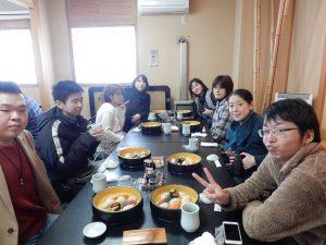 小樽の寿司屋で昼食