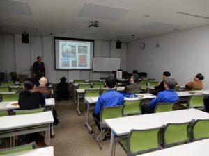 藤沢社長ガードアイシステムの講演