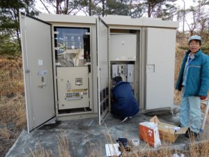 PDK21広野太陽光発電所計測システム設置工事