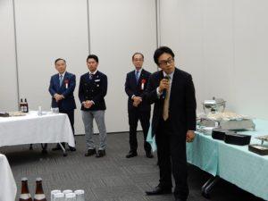 川崎異業種研究会総会での会長挨拶