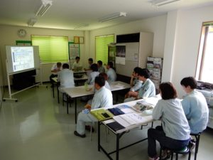 jMACの指導による研修