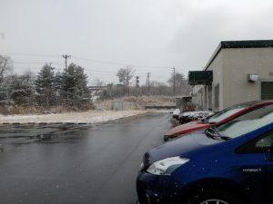 2月10日の雪の日