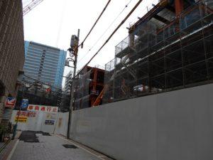 みずほ銀行が入る予定の高層ビル