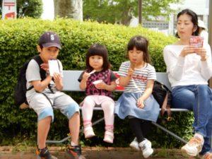 娘と子供たち