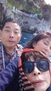 カプリ島青の洞門