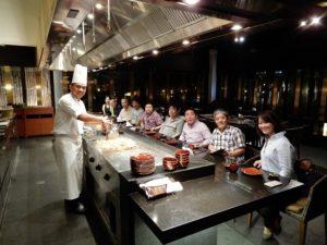 7つ星ホテル内の日本料理店