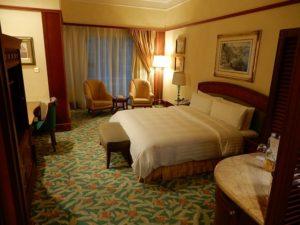 7つ星ホテルの室内