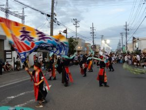 四倉のねぶた祭り
