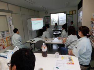 台風の日の経営達成会議