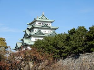 名古屋城の雄姿