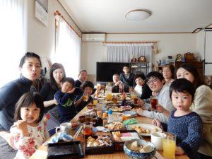 わが家の新年会