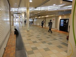 品川駅構内の風景