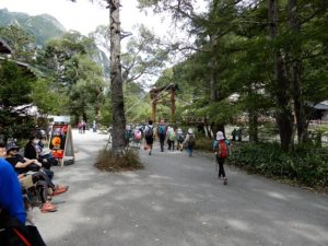 観光客風景