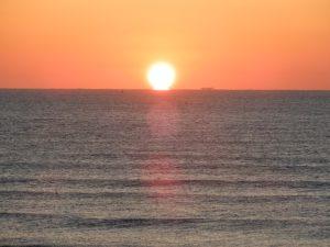 四倉海岸の日の出その2
