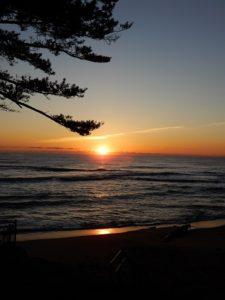 鵜の岬の日の出Ⅱ