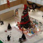 武蔵小杉グランツリーのクリスマスツリー
