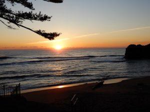 鵜の岬の日の出Ⅰ