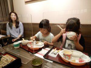 久しぶりに娘と孫と食事
